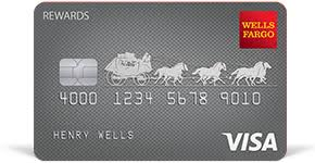 visa rewards credit card wells fargo