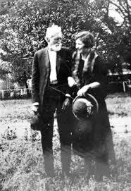 Jesse A. Johnson and daughter Hattie Smith