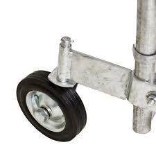 Yardgard 1 3 8 In Chain Link Swivel Wheel 328583c The Home Depot