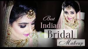best indian bridal makeup smokey eyes
