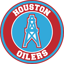 Houston Oilers Circle Logo Vinyl Decal Sticker 5 Sizes Sportz For Less