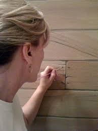 faux painting wood plank walls if you