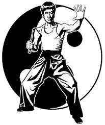 Hitada 14 7cmx17 8cm Bruce Lee Vinyl Decal Film Actor Car Sticker Black Silver Amazon Com