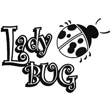 Lady Bug 4 Vinyl Decal Sticker