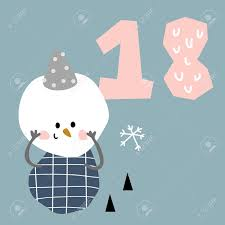 Vector Illustration Of Advent Calendar Page In Scandinavian Style Royalty Free Cliparts Vectors And Stock Illustration Image 105288037