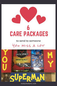 distance es 6 care package ideas