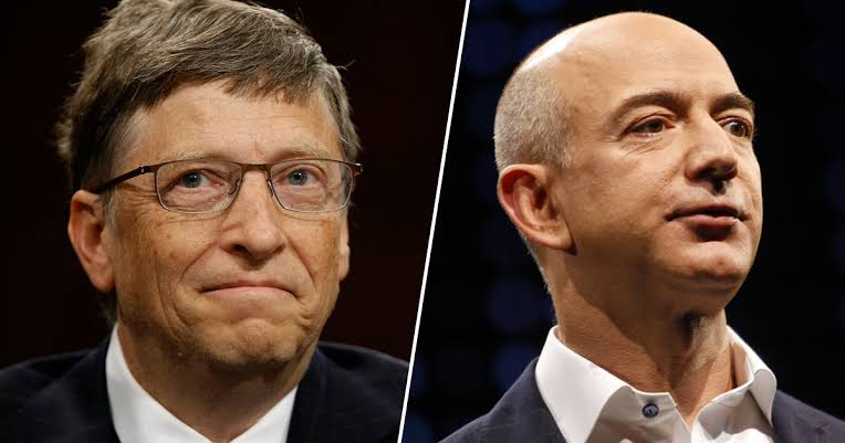 Bill Gates dan Jeff Bezos