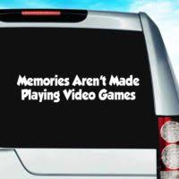 Video Game Decals Stickers Decals For Gamers