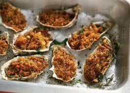 Oysters au gratin - Stock Photo - Dissolve
