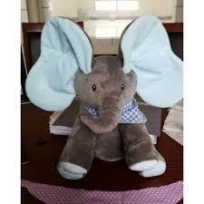 Đồ chơi con voi có nhạc cho bé 30cm - 7007