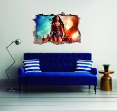 Wonder Woman Wall Decal Egraphicstore