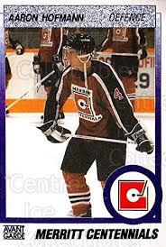 Amazon.com: (CI) Aaron Hoffman Hockey Card 1991-92 British Columbia Junior  Hockey League 66 Aaron Hoffman: Collectibles & Fine Art