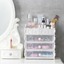 makeup organizer box plastic cosmetic