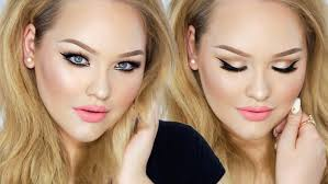 glam summer barbie makeup