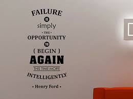 Henry Ford Inspirational Quote Wall Sticker Business Vinyl Decal Art Decor 2hf Ebay