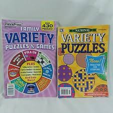 family variety puzzles games national variety puzzles magazine