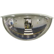 30cm wall quarter mirror dome