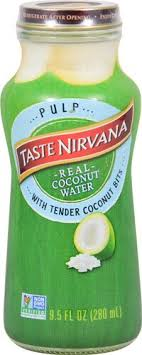 taste nirvana real coconut water with