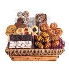 shiva grand fresh pastry gift basket