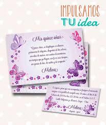Tarjeta De 15 Para Imprimir Invitacion Y Personal Melina