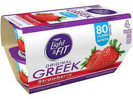 light fit greek yogurt nutrition