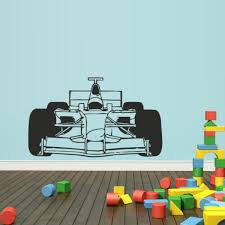 Children S Bedroom Cars Decor Decals Stickers Vinyl Art Formula 1 Logo Wall Decal F1 Sports Cars Race Sticker Decor Vinyl Letters Home Garden Vibranthns Lk