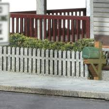 Neighborhood Picket Fence Ho Scale By Scientific