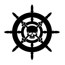 Pirate Ship Wheel Vinyl Decal Sticker For Car Truck Window Tablet Hood Mac In 2020 Pirates Pirate Ship Wheel Car Decals Vinyl