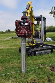 Hydraulic Post Drivers Hydraulic Post Drivers For Sale And Hire For Host Machines Ranging From Excavators To Skid Steer Loaders Visit Our Website For More Information
