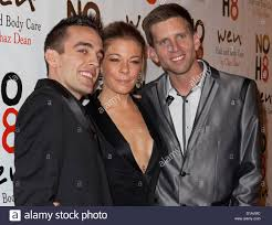 Adam Bouska, LeAnn Rimes, Jeff Parshley at arrivals for NOH8 Campaign Stock  Photo - Alamy