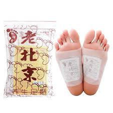 50 pcs ginger detox foot patches