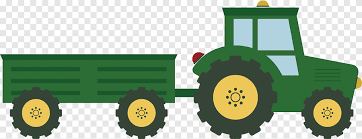 Green Truck With Trailer Illustration Agriculture Agricultural Vehicles Car Happy Birthday Vector Images Png Pngegg