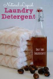homemade liquid laundry detergent made