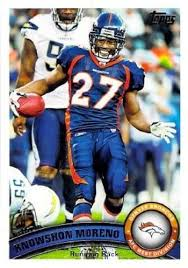 Amazon.com: 2011 Topps #31 Knowshon Moreno NM-MT Broncos: Collectibles &  Fine Art