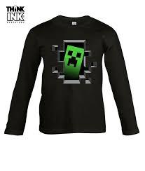 minecraft camisetas polos y camisas