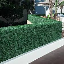 Artificial Hedges Privacy Planters Boxwood Ivy Bamboo