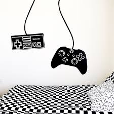 Gamer Wall Decal Controller Wall Decal Boys Room Custom Decals Wall Decal Boys Room Custom Decals Wall Decals