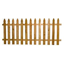 Severe Weather 1 In X 4 In W X 4 Ft H Cedar Gothic Fence Picket Lowes Com Cedar Wood Fence Cedar Fence Fence Panels