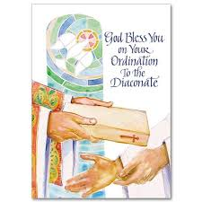 bless you on your ordination to the