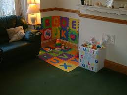 A Babys Play Corner In The Living Room Baby Play Areas Play Corner Kids Play Area