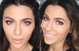 wedding makeup looks for brunettes with
