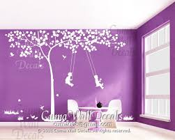 Tree Wall Decal And Kids Wall Decal Birds Cuma Wall Decals