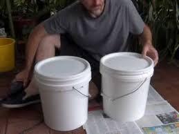 homemade bokashi bucket you