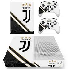 Juventus Football Team Skin Sticker Decal For Xbox One S Console And Controllers For Xbox One Slim Skin Stickers Vinyl Consoleskins Co