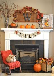 fall themed decor banner fall home