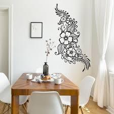 Henna Tattoo Wall Vinyl Sticker Floral Flower Mandala Art Etsy