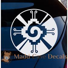 Hunab Ku Symbol Decal Mayan The One God