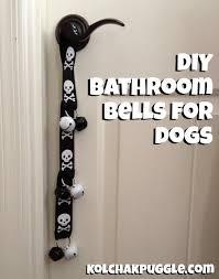 diy bathroom bells for dogs kol s notes