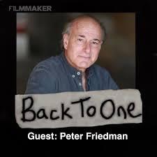 Peter Friedman - Back To One | Lyssna här | Poddtoppen.se