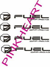 Fuel Off Road Sticker Decal Decals 4 Fuel Wheel Wheels Usa Made Octagon 12 X 2 Ebay